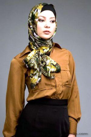 بنات اجنبية بالحجاب