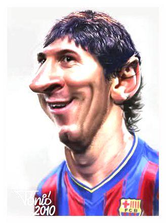 صور مضحكه على فريق برشلونه ميسي Funny pictures on the Barcelona team Messi