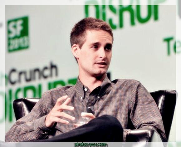 إيفان شبيغل مؤسس تطبيق سناب شات