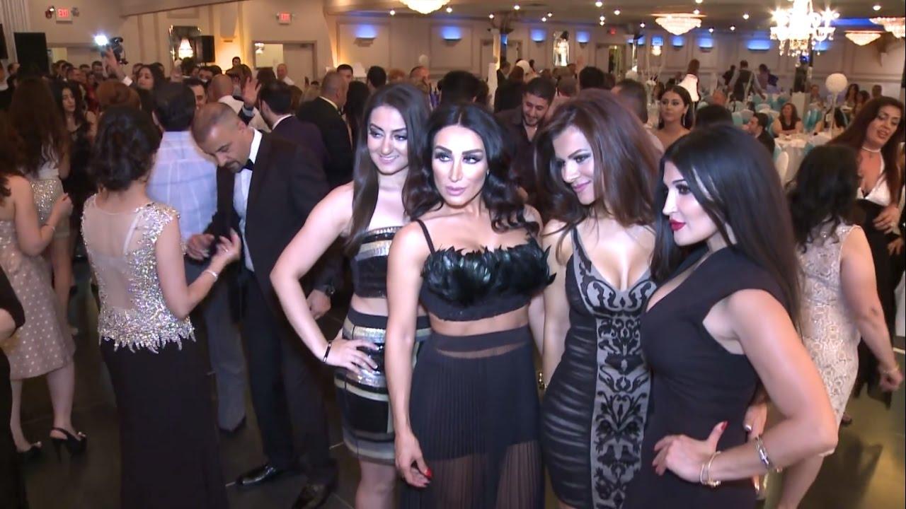 حفلة زفاف عراقية في امريكا 2017 وردح مو طبيعي
