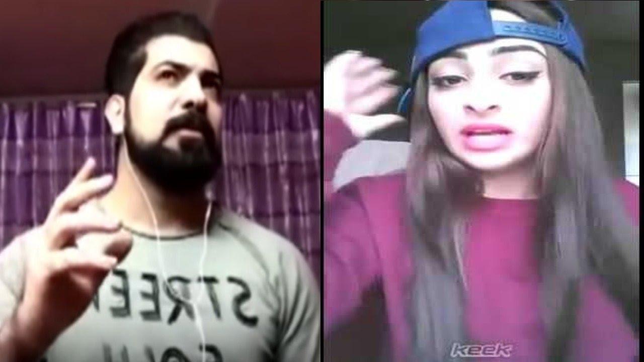 بنت عراقية تسأل شاب أسئلة جنسية وهو موش عارف يرد
