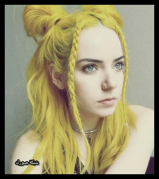 بنات شعرهم اصفر صور جميلات