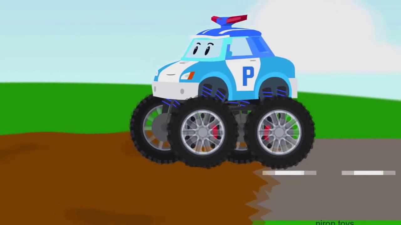 سيارات كرتون اطفال كرتون سيارات لتنمية مهارات الأطفال بالتفكير