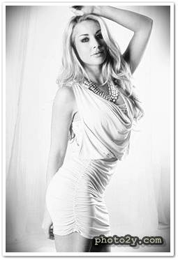 Naughty girl in beautiful tight dresses